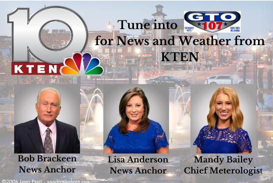 KTEN News and Weather on KVSO!