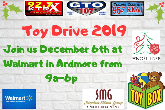 Stephens Media Group Annual Toy Drive 2019